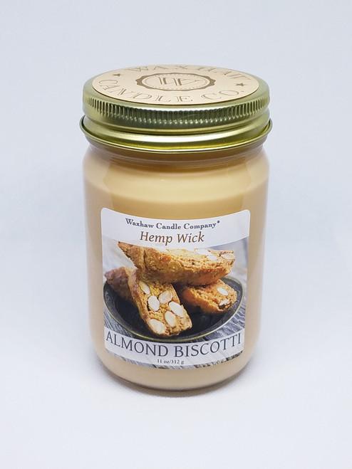 Almond Biscotti Candle - Hemp Wick