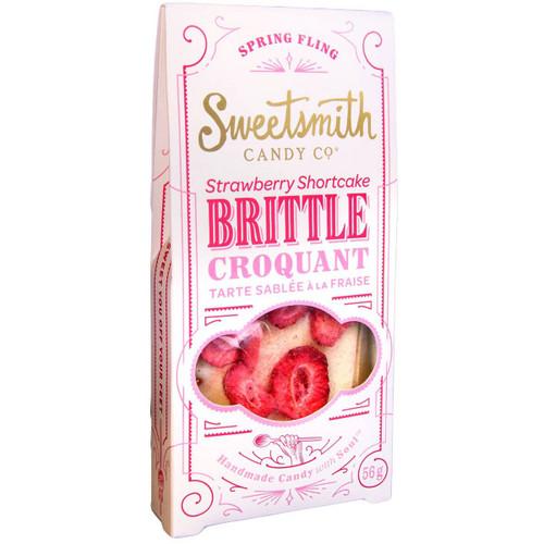 Strawberry Shortcake Brittle