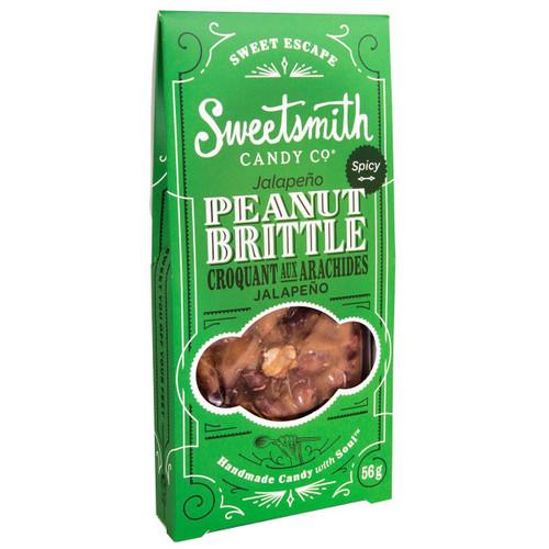 Jalapeño Peanut Brittle