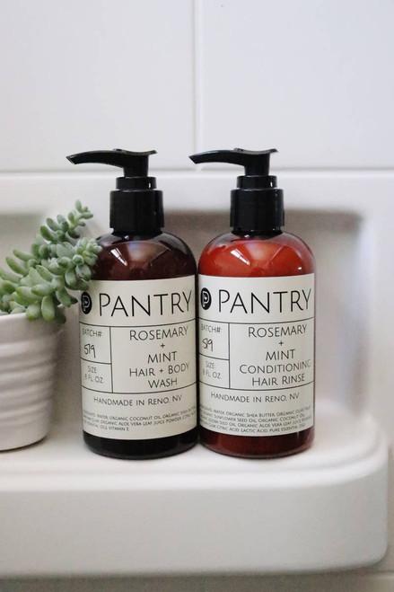 Rosemary + Mint Hair & Body Wash