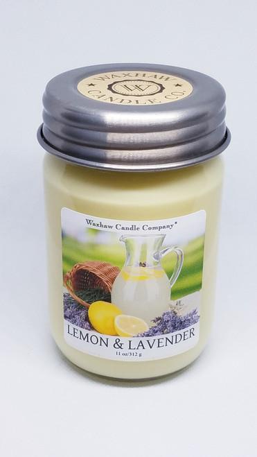 Lemon & Lavender Soy Candle