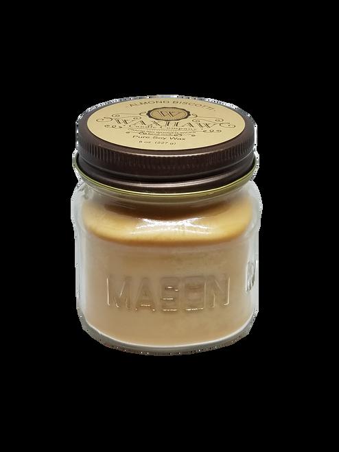 Almond Biscotti Mason Jar Candle