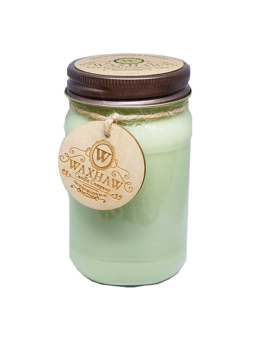 Black Ginger and Bamboo Large Soy Candle