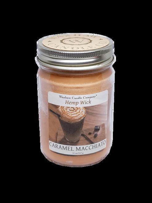 Caramel Macchiato Candle - Hemp Wick