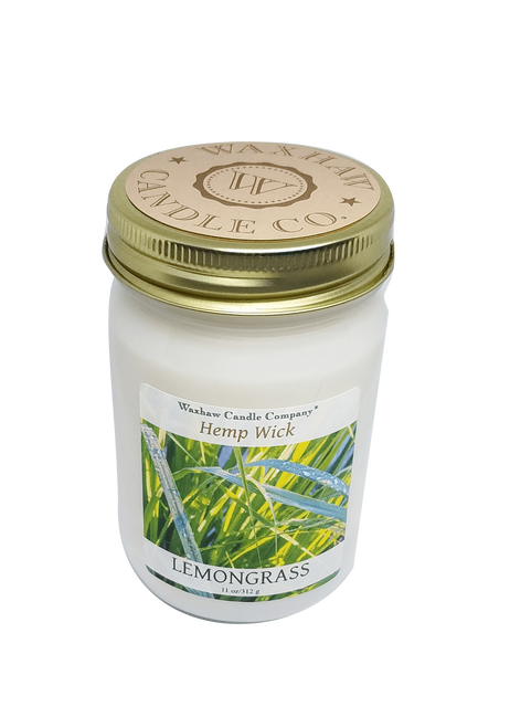 Lemongrass Candle - Hemp Wick