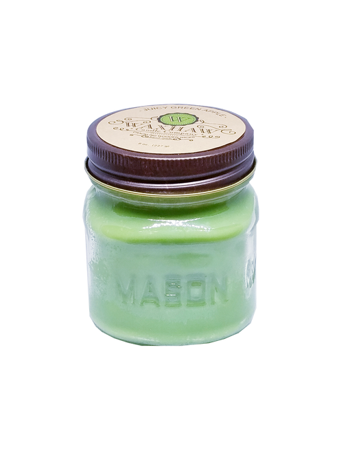 Juicy Green Apple Mason Jar Candle