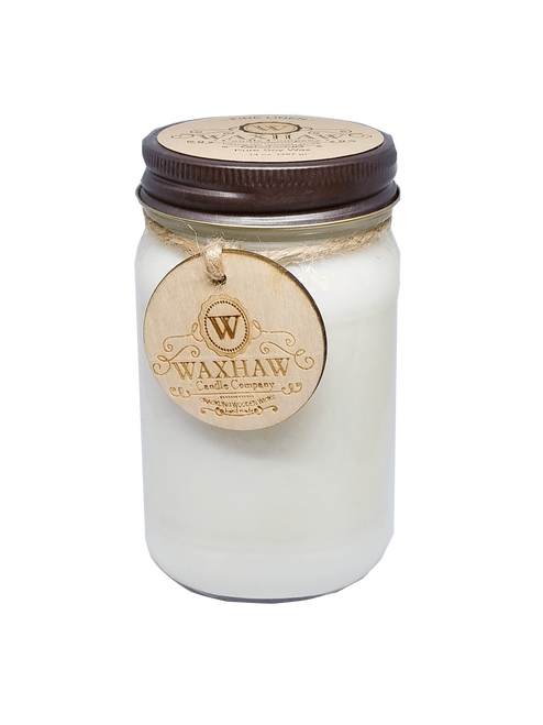 Fine Linen Large Soy Candle