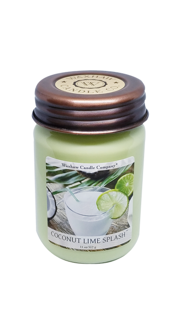 Coconut Lime Splash Soy Candle
