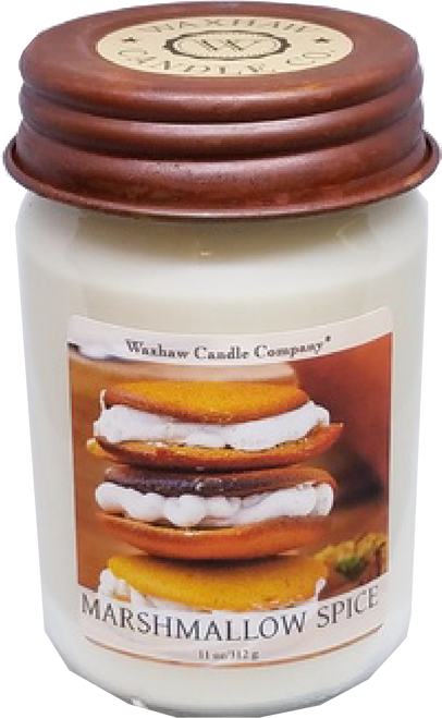 Marshmallow Spice Soy Candle