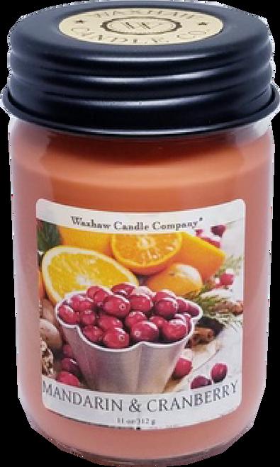 Mandarin & Cranberry Soy Candle