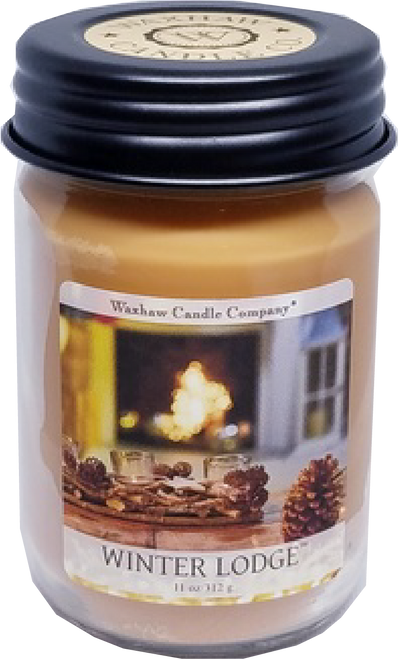 Winter Lodge Soy Candle