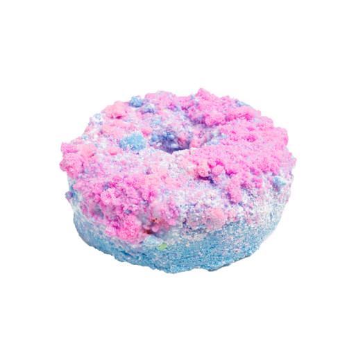 Cotton Candy Donut Bath Bomb