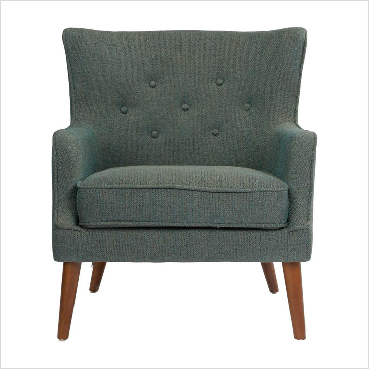 gray fabric sofa VIP 1 seat