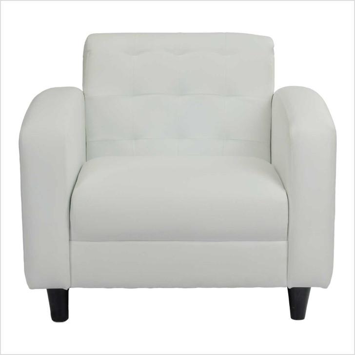 white leather sofa 1 seat