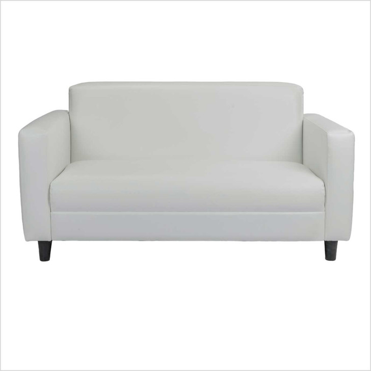 white sofa comfortable