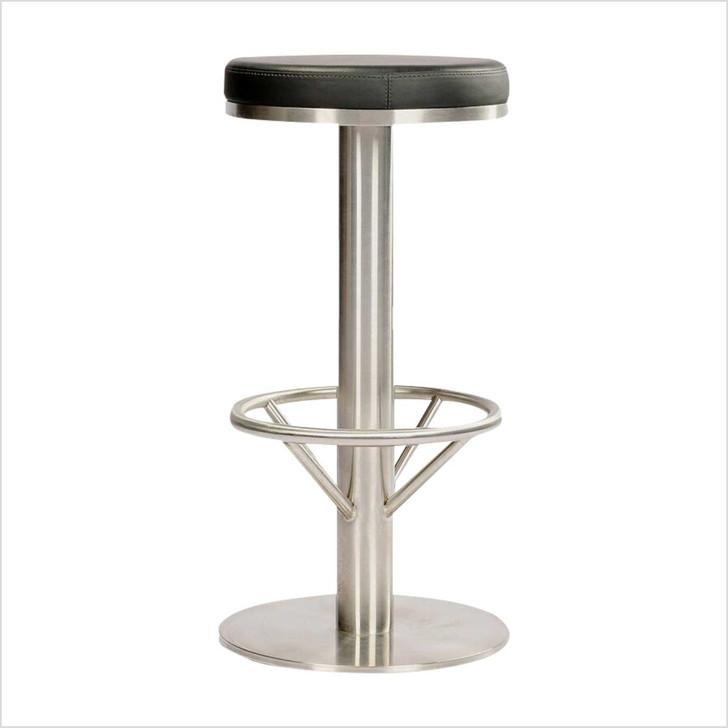 Stool Chair -Round Black