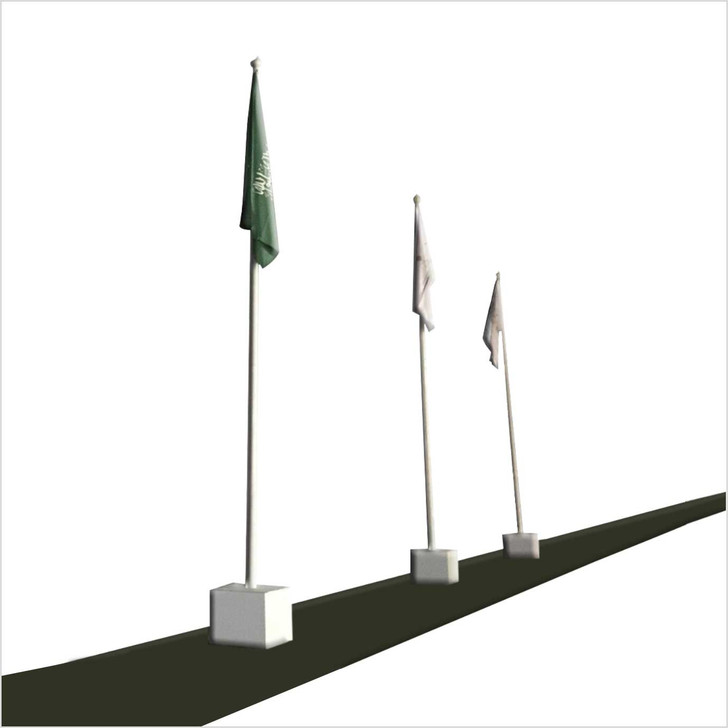 Flag Pole Display- out Door