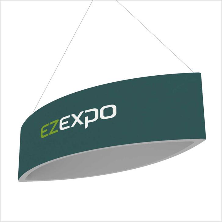ellipse shape dangler banner