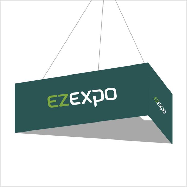 triangle shape dangler banner