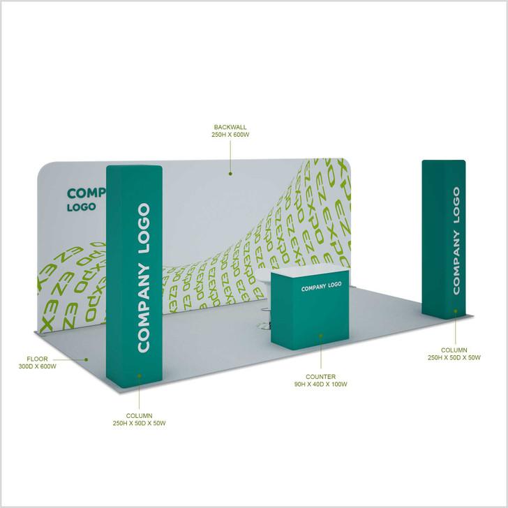 Twin Pillars booth