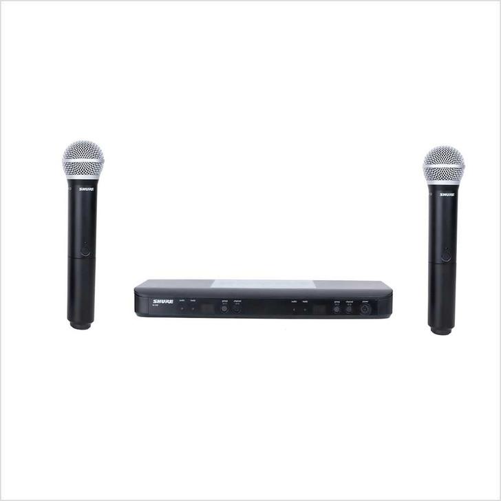 Microphone  Shure BLX  288/PG58