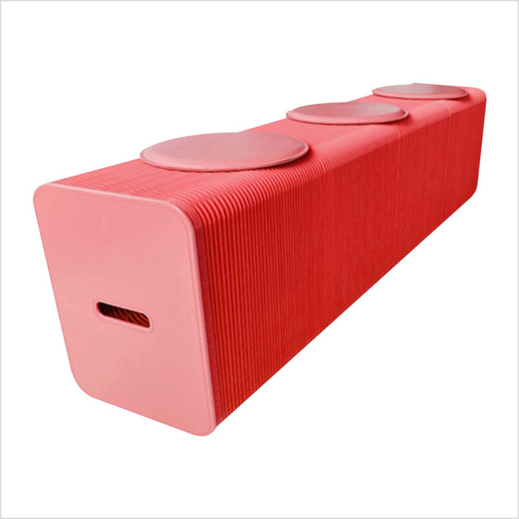 Paper Stool Chair 3 person