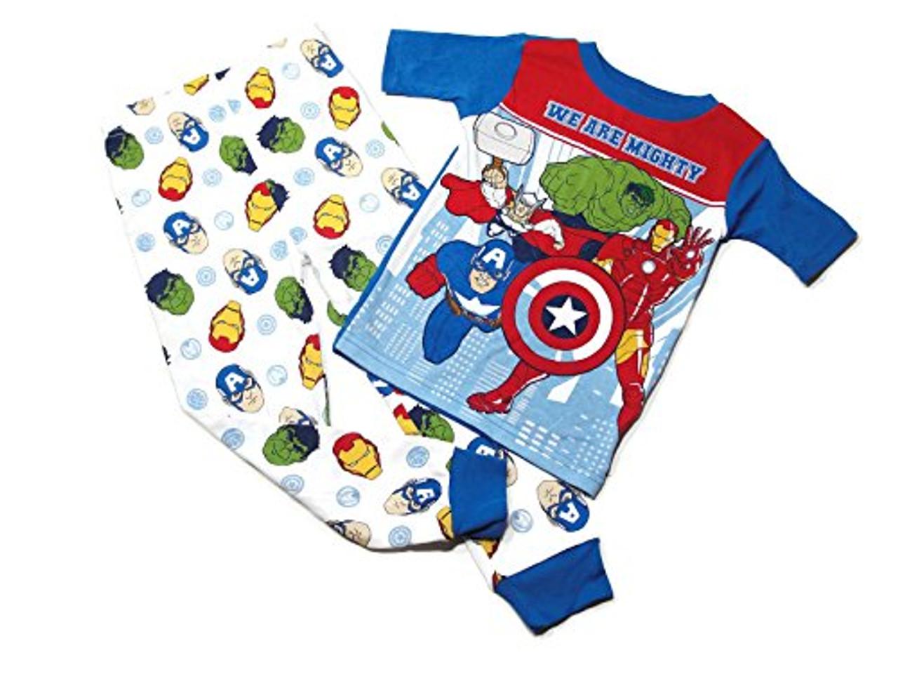 Marvel Avengers Mighty Heroes snug fit pjs