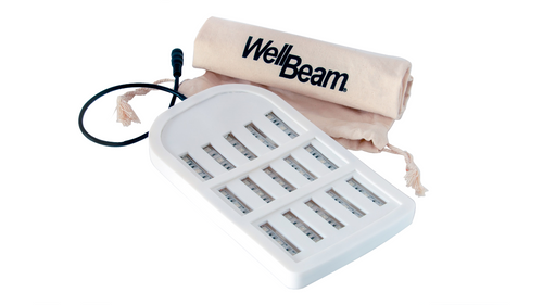 ** NEW** Wellbeam Patch Triple Combination Therapy device 15 x 660nm red diodes, 15 x 470nm blue diodes, 15 x 850nm near-infrared diodes For the treatment of skin conditions, and chronic pain.