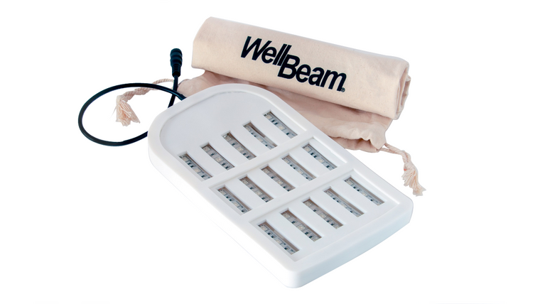 WellBeam Patch Blue Skin Therapy device 45 x 470nm Blue diodes for the treatment of viral, fungal and bacterial skin conditions