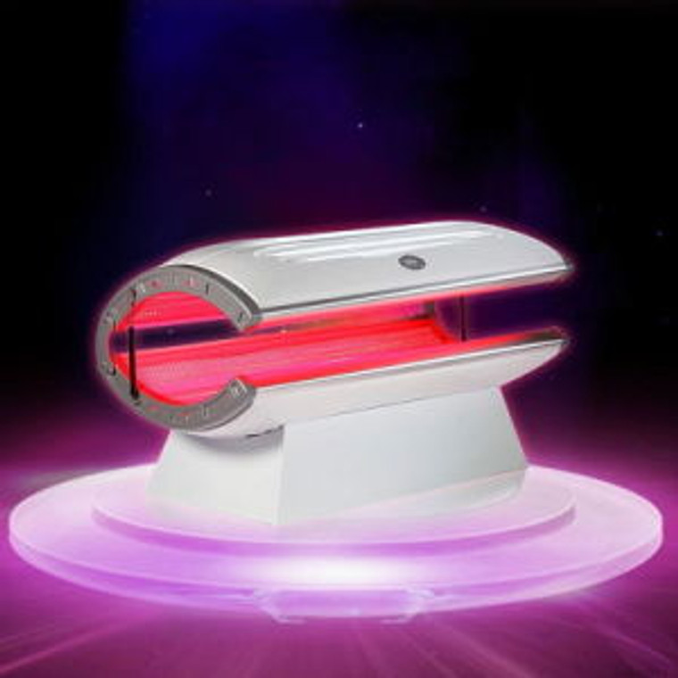 LED Healing Bed 630nm Red & 850nm Near-Infrared Healing Bed Conducting full body treatments providing health benefits to the whole body cannot get simpler using the WellBeam LED Healing Bed  Percentages of Red to Near-Infrared diodes can be customised at time of order.