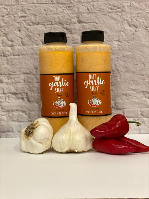 That Garlic Stuff Spicy - 2  16 oz. Bottles