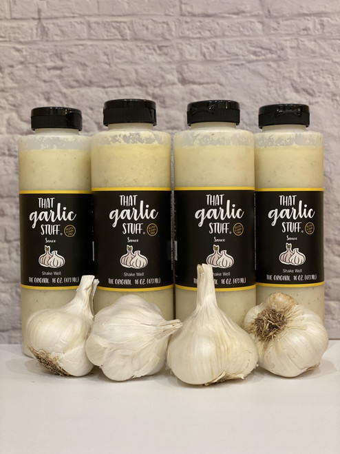 That Garlic Stuff Original - 4 16 oz. Bottles