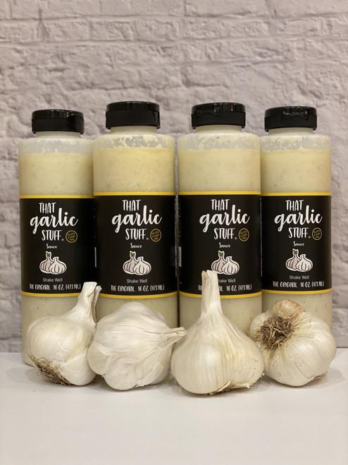 That Garlic Stuff Original - 4 16 oz. Bottles