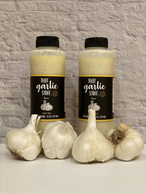 That Garlic Stuff Original - 2 16 oz Bottles