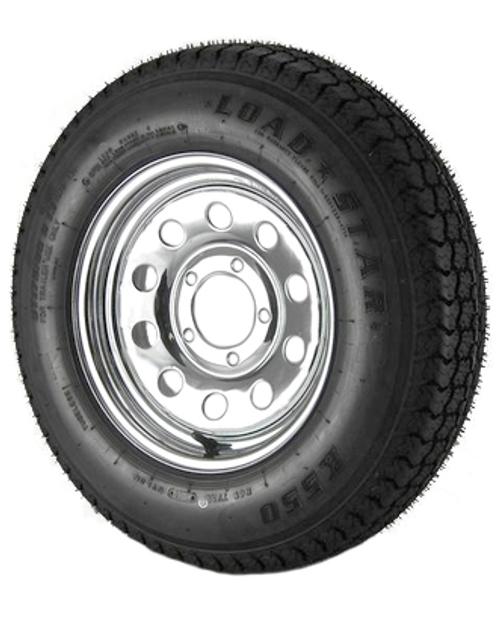 ST155/80 D-13 C-5-Chrome Mod No Rivets-KJG