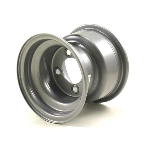 8 x 7 4/4 0-Offset Standard Silver Wheel 2.83 Center Hole, 940# Cap,
