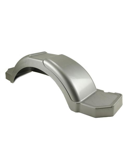 "37.38"" Silver Plastic Step Trailer Fender"