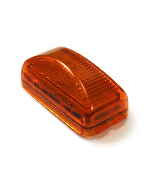 """2.5"""" Snap Lock Amber LED light - PC Rated"""