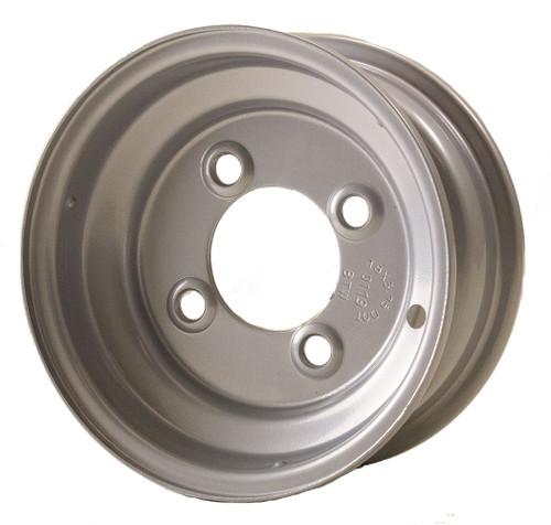 """8X3.75 4-Lug on 4"""" Silver Bell Trailer Wheel - RW"""