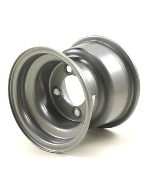 """8X7 4-Lug on 4"""" Silver Bell Trailer Wheel"""