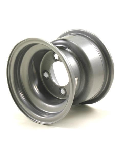 """8X7 4-Lug on 4"""" Silver Bell Trailer Wheel - RW"""