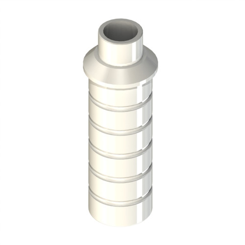 Modify and cast component for creation of custom Abutment. Non Engaging. Screw not included.