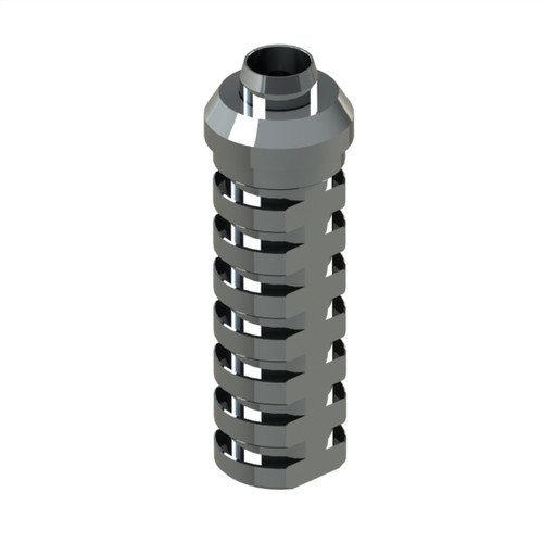 Used for Temporary  bridge abutment and crown. Non-Engaging. High Quality. High Strength. Made in Titanium 5Grade. Screw included.