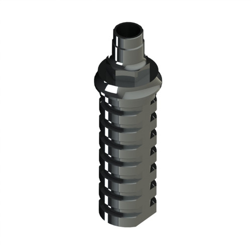 Used for Temporary  bridge abutment and crown. Engaging. High Quality. High Strength. Made in Titanium 5Grade. Screw included.