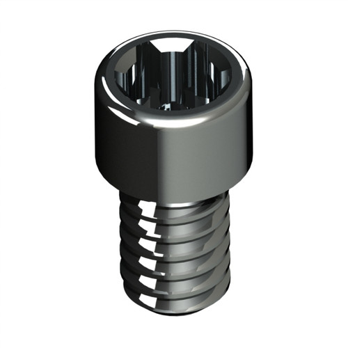 For fixation of the implant component. High Quality. High Strength. Made in Titanium 5Grade.