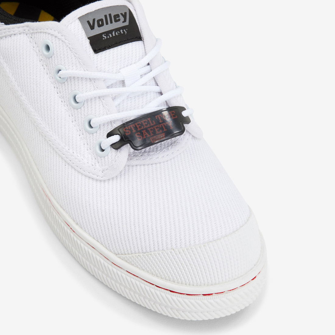 Volley Mens White SAFETY CANVAS  3