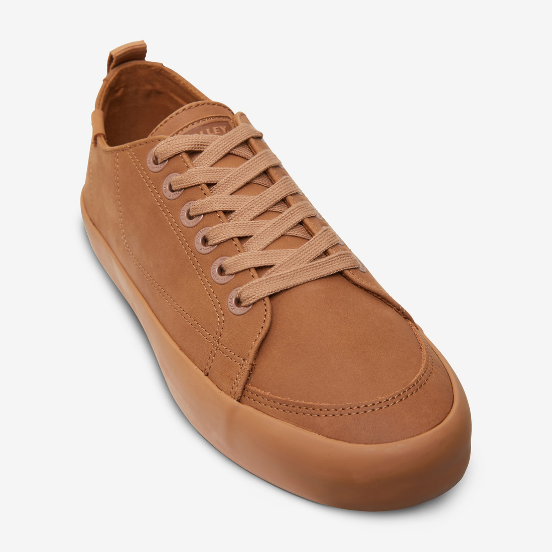 Volley UnisexAdultDEUCE LEATHER LOW Brown   4