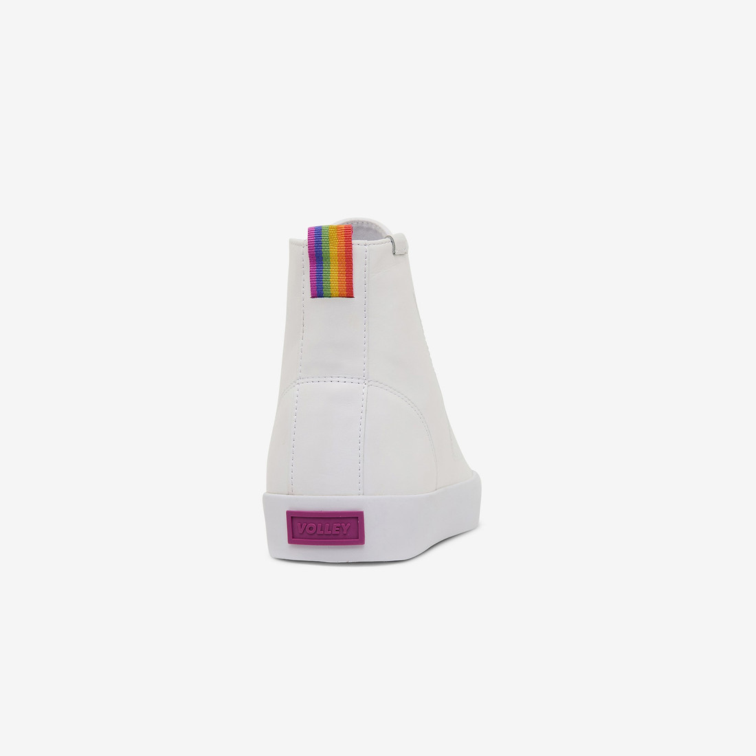 Volley UnisexAdultPRIDE DEUCE LEATHER HIGH White   1