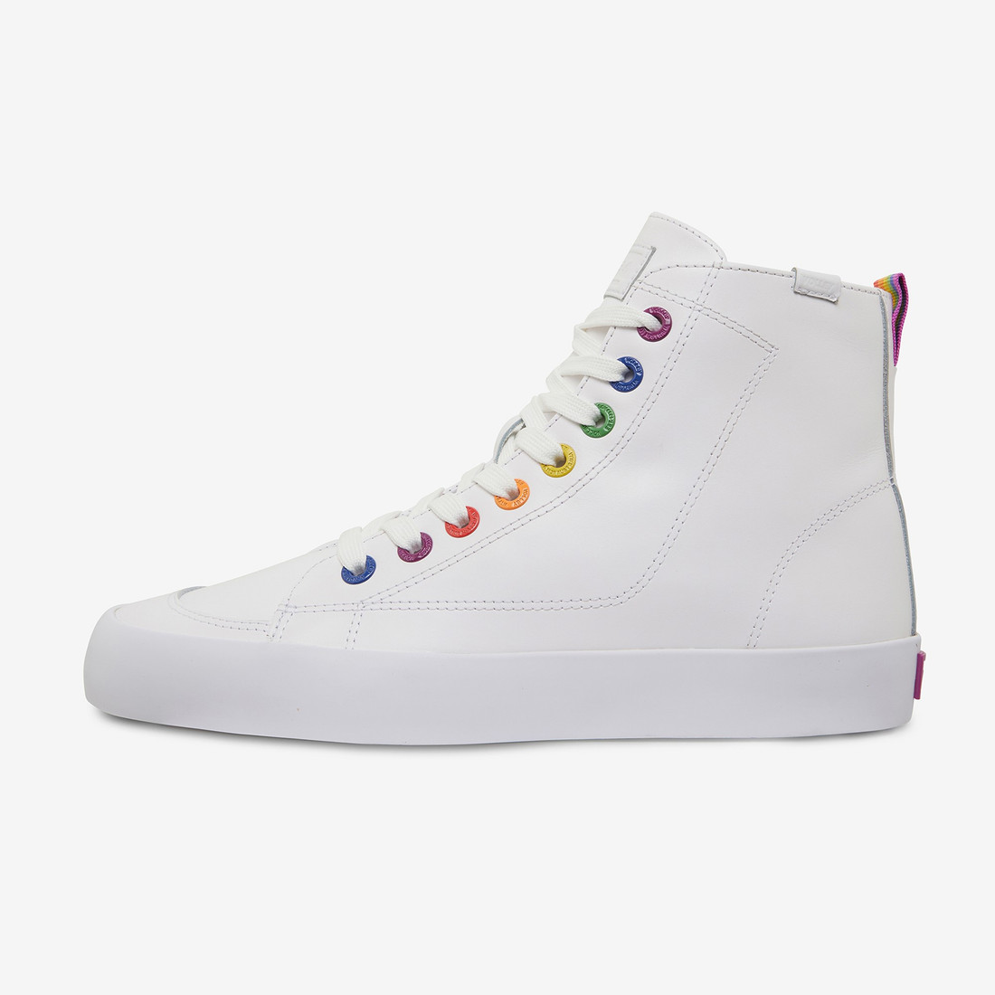 Volley UnisexAdultPRIDE DEUCE LEATHER HIGH White   6