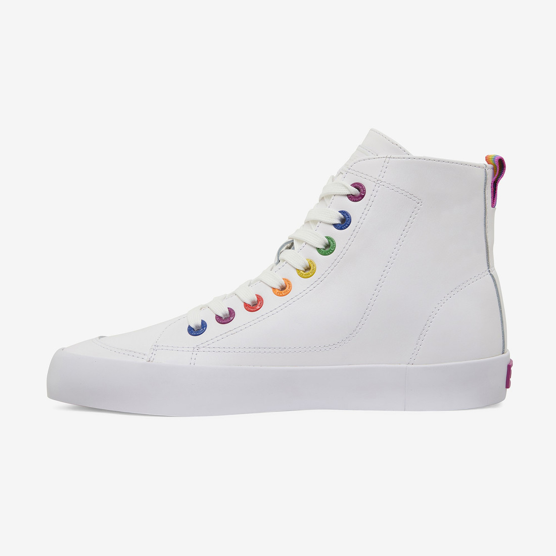 Volley UnisexAdultPRIDE DEUCE LEATHER HIGH White   7